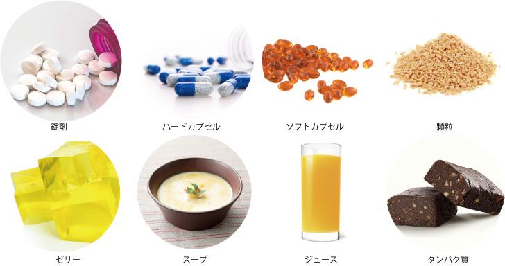 フード&ヘルスケア 健康食品受託製造(OEM)